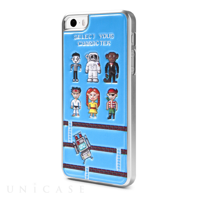 【iPhoneSE(第1世代)/5s/5 ケース】Cushi Case Game GAME