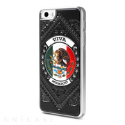 【iPhoneSE(第1世代)/5s/5 ケース】Cushi Case Flag MEXICO