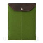 iPad sleeve green felt