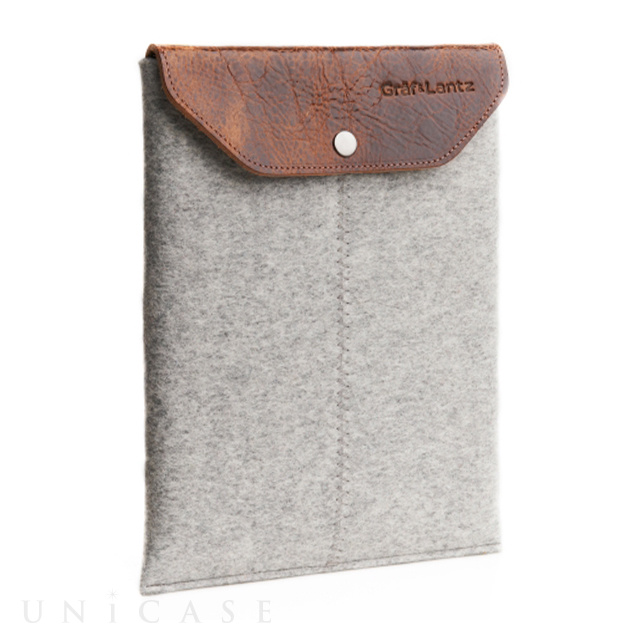 iPad sleeve grey felt