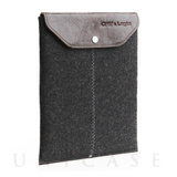 iPad sleeve charcoal felt