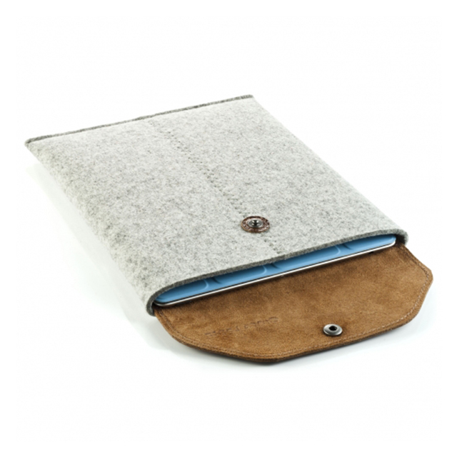 iPad sleeve grey feltサブ画像