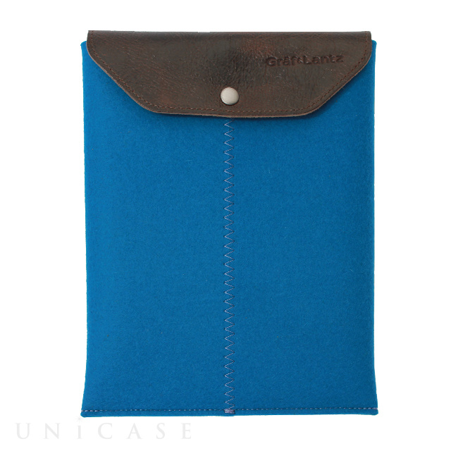 iPad sleeve blue felt