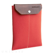 iPad mini sleeve orange felt