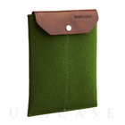 iPad mini sleeve green felt