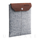 iPad mini sleeve grey felt