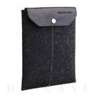 iPad mini sleeve charcoal felt