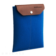 iPad mini sleeve blue felt