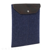 iPad mini sleeve indigo felt