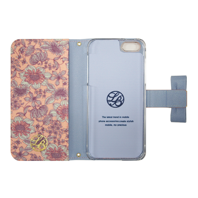【iPhone5s/5 ケース】La Boutique フラワー iPhoneケース for iPhone5s/5(PK)