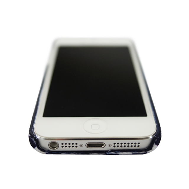 【iPhone5s/5 ケース】La Boutique ストライプ iPhoneカバー for iPhone5s/5(NV)サブ画像