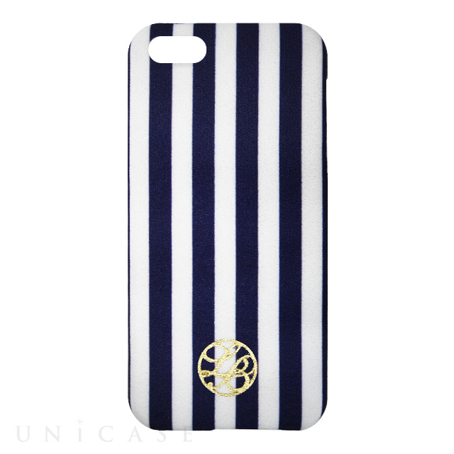 La Boutique ストライプ iPhoneカバー for iPhone5s/5(NV)