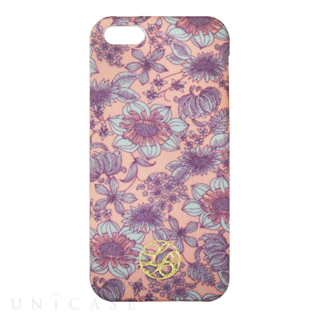 La Boutique フラワー iPhoneカバー for iPhone5s/5(PK)