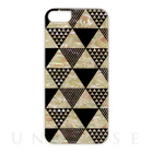 【iPhoneSE/5s/5 ケース】Natural Pearl Case (Pyramid/ホワイトフレーム)