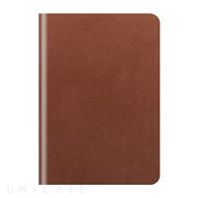【iPad mini3/2/1 ケース】D5 Calf Skin Leather Diary (タンブラウン)