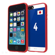 【iPhone5s/5 ケース】Bluevision Composite World Cup Edition (Red)