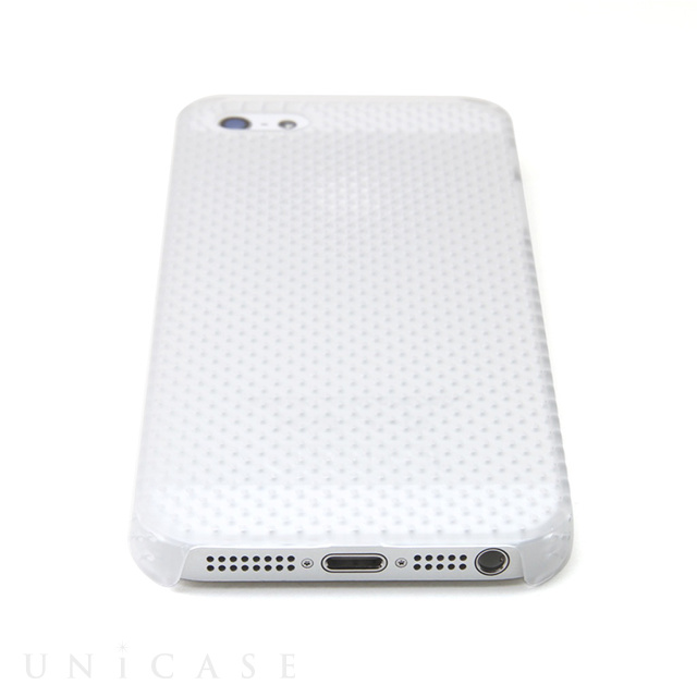 【iPhone5s/5 ケース】MESH SHELL for iPhone 5s MAT CLEAR