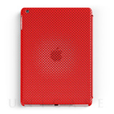 【iPad Air ケース】MESH SHELL CASE MAT RED