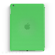 【iPad Air(第1世代) ケース】MESH SHELL CASE MAT GREEN