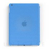 【iPad Air ケース】MESH SHELL CASE MAT BLUE