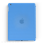 【iPad Air(第1世代) ケース】MESH SHELL CASE MAT BLUE