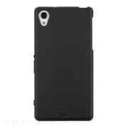【XPERIA Z2 ケース】Hybrid Tough Case Black/Black