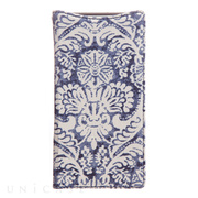 【XPERIA Z2 ケース】Denim Paisley Diary