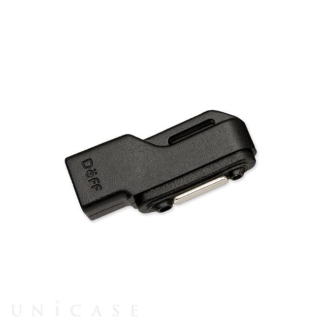 TRAVEL BIZ Xperia micro USB Magnet Adapter Black