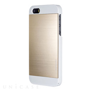 【iPhone5s/5 ケース】INO METAL (GOLD WHITE)