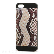 【iPhone5s/5 ケース】INO METAL SAFARI CASE (Serpent Black)