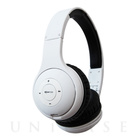 【ヘッドホン Bluetooth】headpods Bluetooth White