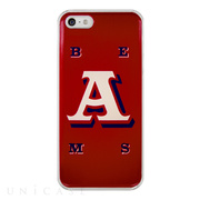 "【iPhoneSE/5s/5 ケース】アルファベットシリーズ Designed by 「BEAMS」 ""A"""