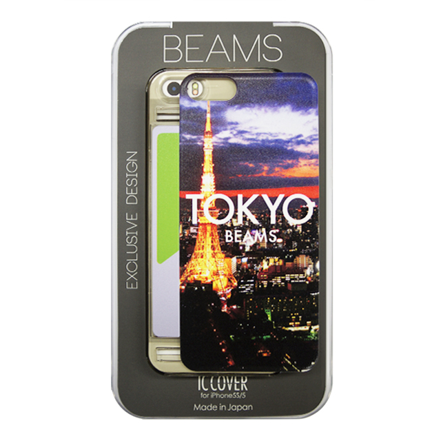 【iPhoneSE/5s/5 ケース】都市シリーズ Designed by 「BEAMS」 東京
