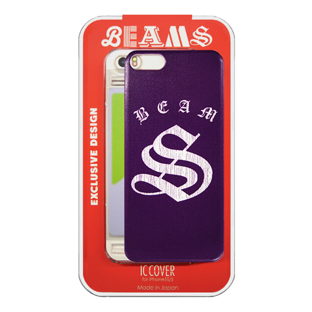 "【iPhoneSE/5s/5 ケース】アルファベットシリーズ Designed by 「BEAMS」 ""S"""