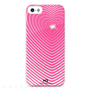 【iPhone5s/5 ケース】Heartbeat Pink