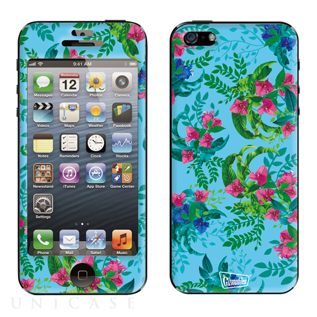 【限定】【iPhoneSE/5s/5 スキンシール】Gizmobies calm bush in the watar