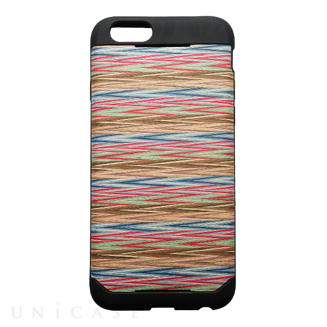pictures of the iphone 1 iphone6s 6 ケース wood skin レインボーチェック iclooly iphoneケースは 17913