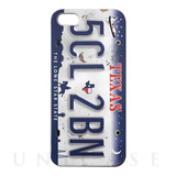 【iPhoneSE/5s/5 ケース】CollaBornデザインケース (Numberplate[Texas])