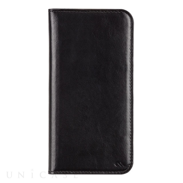 【iPhone6s/6 ケース】Wallet Folio Case Black