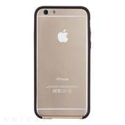 【iPhone6s/6 ケース】Tough Frame (Champagne Gold/Black)