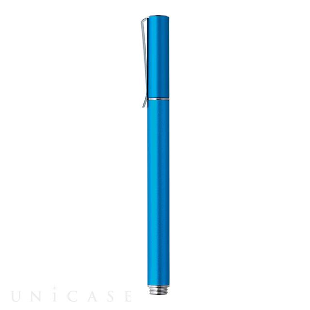 高導電性ディスク搭載タッチペン ブルー