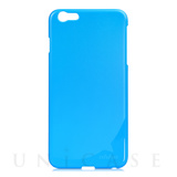 【iPhone6s Plus/6 Plus ケース】Hard Case POZO Solid Blue