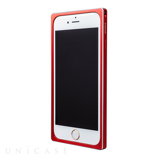 【iPhone6s/6 ケース】GRAMAS Straight Metal Bumper Red