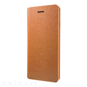 【iPhone6s/6 ケース】Super Thin One Sheet PU Leather Case (Tan)