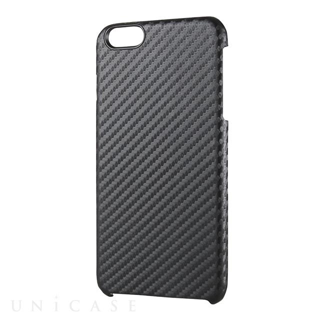 099e78aa41 ... 【iPhone6s Plus/6 Plus ケース】シェルカバー/カーボン生地張り/ブラック ...