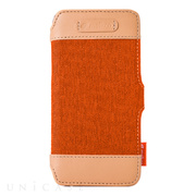 【iPhone6s/6 ケース】Cru Series Premium Leather Case (Booka Orange)