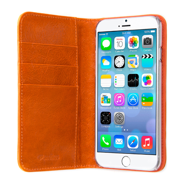 【iPhone6s Plus/6 Plus ケース】Premium Cow Leather Heritage 2 (Oliver Orange)サブ画像