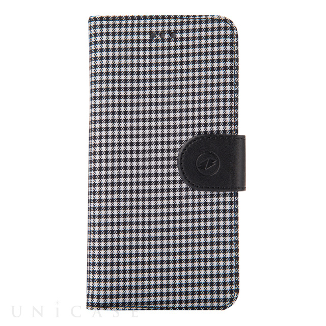 【iPhone6s/6 ケース】PU Case Western Series Diary (Black Checked)