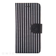 【iPhone6s Plus/6 Plus ケース】PU Case Western Series Diary (Black Strip)