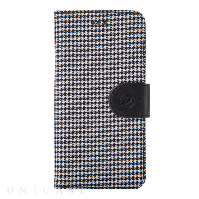 【iPhone6s Plus/6 Plus ケース】PU Case Western Series Diary (Black Checked)